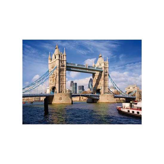 Puzzle 1000 pièces - Lieux célèbres : Tower Bridge, Londres - Dtoys-64288FP08