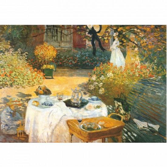 Puzzle 1000 pièces - Monet : Le déjeuner - DToys-67548CM02