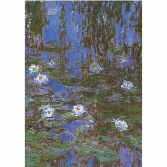 Puzzle 1000 pièces - Monet : Nymphéas - DToys-67548CM06