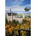 Puzzle 1000 pièces - Paysages : Château de Neuschwanstein, Allemagne