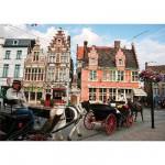 Puzzle 1000 pièces - Paysages : Gent, Belgique