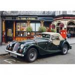 Puzzle 1000 pièces - Paysages : Voiture ancienne à l'arrêt, Londres
