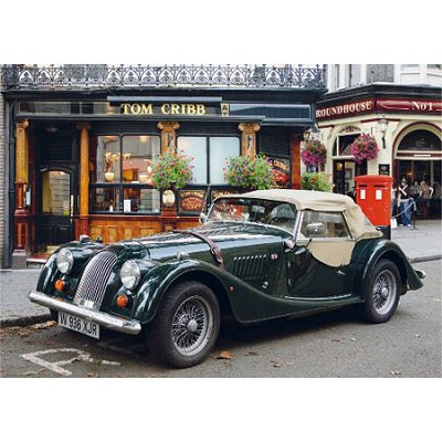 puzzle 1000 pi ces paysages voiture ancienne l 39 arr t londres puzzle dtoys rue des puzzles. Black Bedroom Furniture Sets. Home Design Ideas