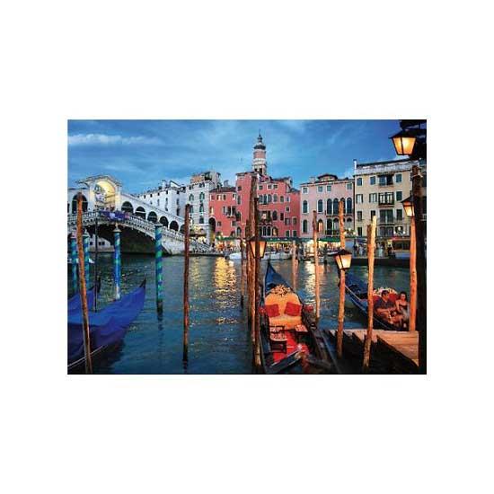 Puzzle 1000 pièces - Paysages nocturnes : Venise, Italie - Dtoys-64301NL04