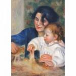 Puzzle 1000 pièces - Renoir : Gabrielle et Jean