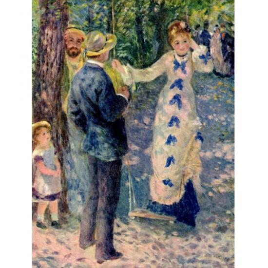 Puzzle 1000 pièces - Renoir : La balançoire - Dtoys-66909RE03