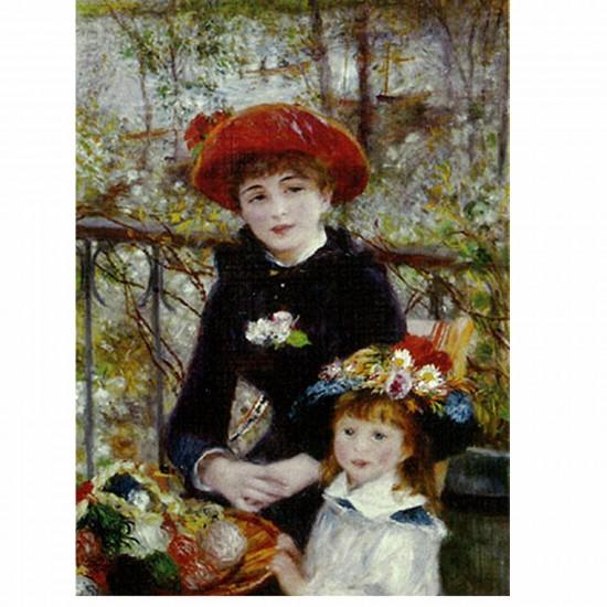 Puzzle 1000 pièces - Renoir : Sur la terrasse - Dtoys-66909RE01