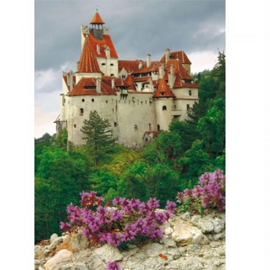 Puzzle 1000 pièces - Roumanie : Château de Bran - Dtoys-63038MN06