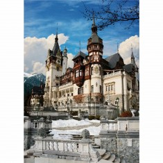 Puzzle 1000 pièces - Roumanie : Château de Peles