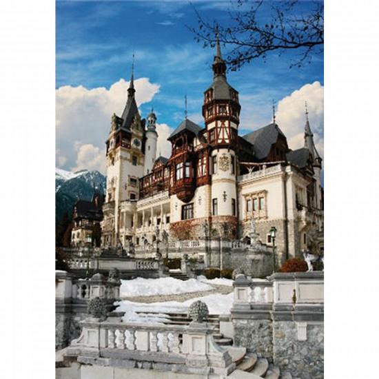 Puzzle 1000 pièces - Roumanie : Château de Peles - Dtoys-63038MN08