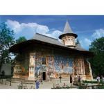 Puzzle 1000 pièces - Roumanie : Monastère Voronet