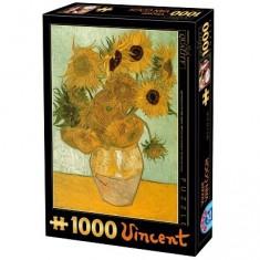 Puzzle 1000 pièces - Van Gogh : Les tournesols