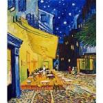 Puzzle 1000 pièces - Van Gogh : Terrasse d'un café le soir