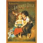 Puzzle 1000 pièces - Vintage Posters : Biscuits Lefevre-Utile