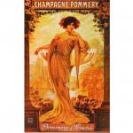 Puzzle 1000 pièces - Vintage Posters : Champagne Pommery