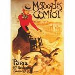 Puzzle 1000 pièces - Vintage Posters : Motocycles Comiot