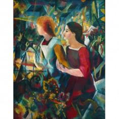 Puzzle 1000 pièces : August Macke : Deux filles