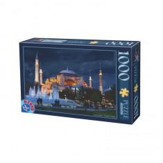 Puzzle 1000 pièces : Basillique Sainte Sophie : Istanbul : Turquie