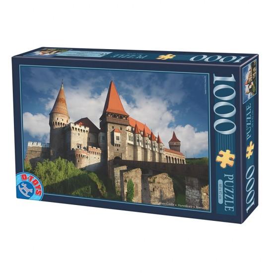 Puzzle 1000 pièces : Château des Corvin : Hunedoara : Roumanie - Dtoys-63038MN12