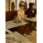 Puzzle 1000 pièces : Edgard Degas : Dans un café L'Absinthe