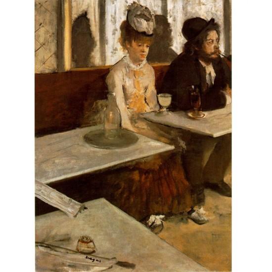 Puzzle 1000 pièces : Edgard Degas : Dans un café L'Absinthe - Dtoys-72801DE01