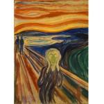 Puzzle 1000 pièces : Edvard Munch : Le cri