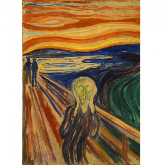 Puzzle 1000 pièces : Edvard Munch : Le cri - Dtoys-72832MU01