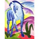 Puzzle 1000 pièces : Franz Marc : Cheval bleu I