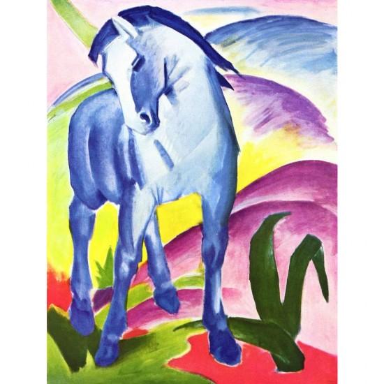 Puzzle 1000 pièces : Franz Marc : Cheval bleu I - Dtoys-72856MA02