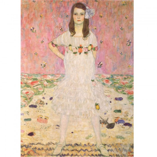 Puzzle 1000 pièces : Gustav Klimt : Eugénia Mäda Primavesi - Dtoys-66923KL07