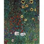 Puzzle 1000 pièces : Gustav Klimt : Le jardin aux tournesols