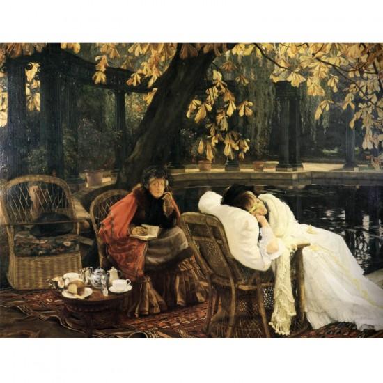 Puzzle 1000 pièces : James Tissot : La convalescente - Dtoys-72771TI02