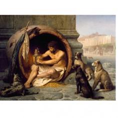 Puzzle 1000 pièces : Jean-Léon Gérôme : Diogène