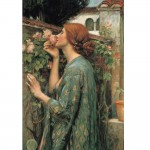 Puzzle 1000 pièces : John William Waterhouse : L'âme de la rose