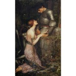 Puzzle 1000 pièces : John William Waterhouse : Lamia