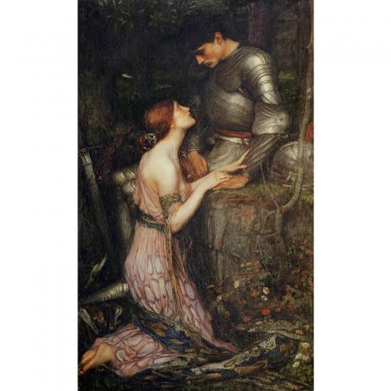Puzzle 1000 pièces : John William Waterhouse : Lamia - Dtoys-72757WA03