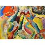 Puzzle 1000 pièces : Kandinsky : Painting with Red Spot