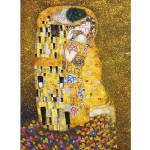 Puzzle 1000 pièces - Klimt : Le baiser