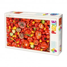Puzzle 1000 pièces : Niveau très difficile : Légumes