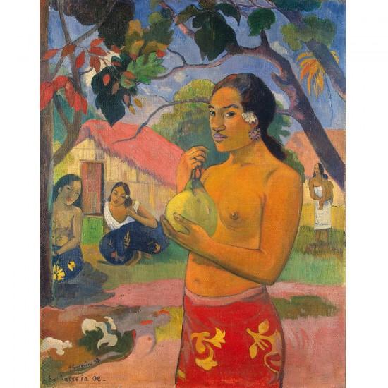 Puzzle 1000 pièces : Paul Gauguin : Femme portant un fruit - Dtoys-72818GA02