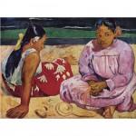Puzzle 1000 pièces : Paul Gauguin : Femmes de Tahiti