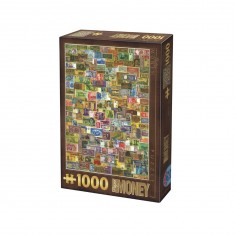 Puzzle 1000 pièces : Vintage : Billet de banque
