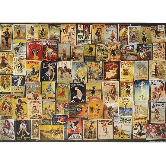 Puzzle 1000 pièces : Vintage : Publicités : Vélos - Dtoys-67555VP11