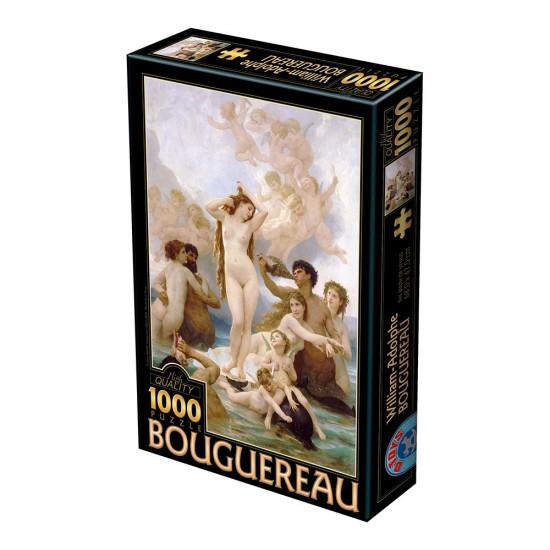 Puzzle 1000 pièces : William-Adople Bouguereau : La Naissance de Vénus - Dtoys-72764BO01