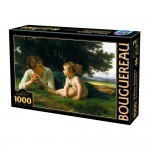 Puzzle 1000 pièces : William-Adople Bouguereau : Tentation