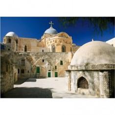 Puzzle 1000 pièces - Lieux célèbres : Jerusalem, Israël - Ciel bleu