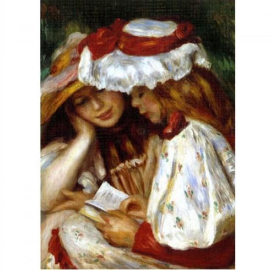 Puzzle 1000 pièces - Renoir : Jeunes filles lisant - Dtoys-66909RE02