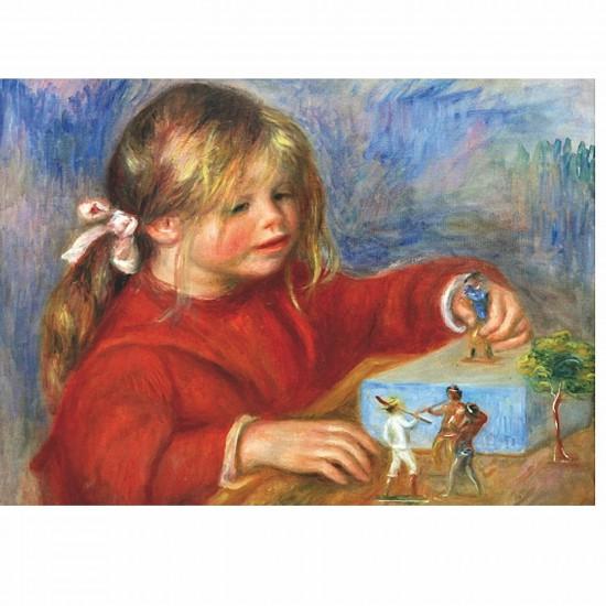 Puzzle 1000 pièces - Renoir : Jouant - DToys-66909RE07-1