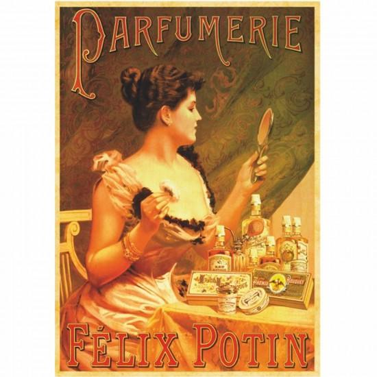 Puzzle 1000 pièces - Vintage Posters : Parfumerie Félix Potin - DToys-67555VP07