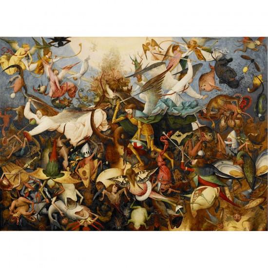 Puzzle 2000 pièces : Brueghel : La Chute des anges rebelles - Dtoys-72900BR02